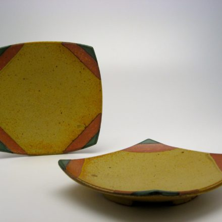 P188: Main image for Set of Plates made by Jeff Oestreich