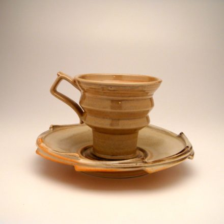 CP&S01: Main image for Cup and Saucer made by Bill Brouillard