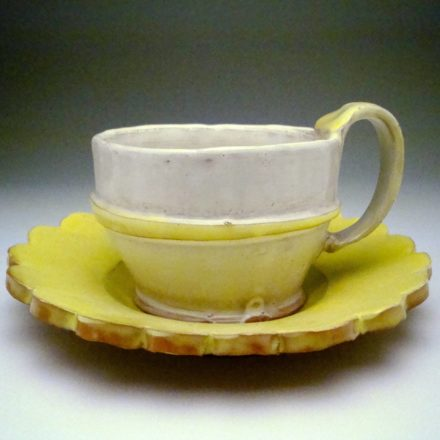 CP&S18: Main image for Cup & Saucer made by Kari Radasch