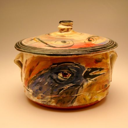 J09: Main image for Lidded Jar made by Ron Meyers