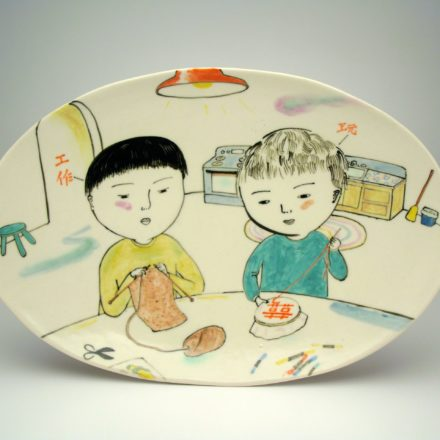 SW66: Main image for Serving Dish made by Beth Lo