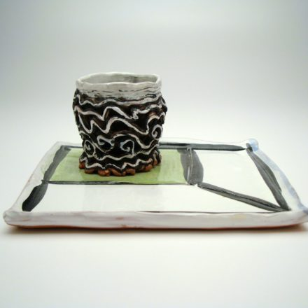 SW120: Main image for Sushi Plate and Bowl made by Deirdre Daw