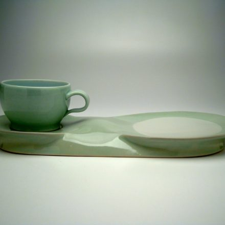 SW121: Main image for Serving Tray and Cup made by Sam Chung