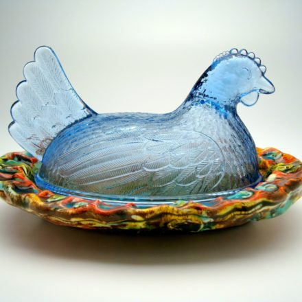 SW125: Main image for Butter Dish made by Lisa Orr