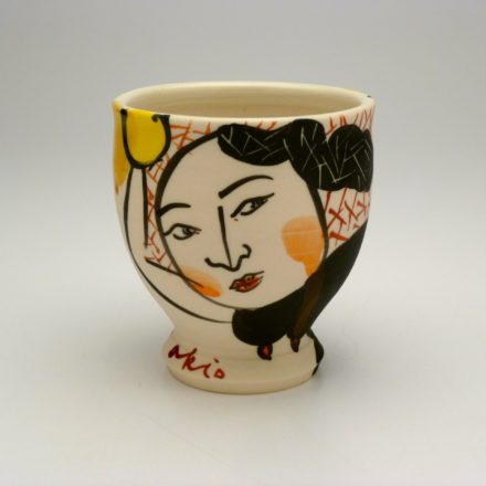 C514: Main image for Cup made by Akio Takamori