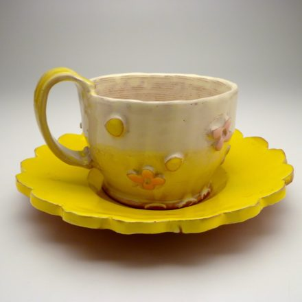CP&S26: Main image for Cup and Saucer made by Kari Radasch