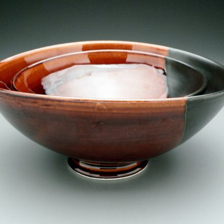 B476: Main image for Stacking Bowls made by Brooks Oliver