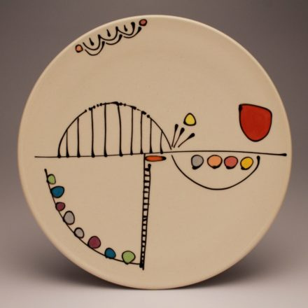 P412: Main image for Plate made by Emily Free Wilson