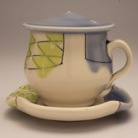 CP&S28: Main image for Cup and Saucer made by Amy Halko