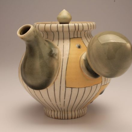 T74: Main image for Teapot made by Lorna Meaden