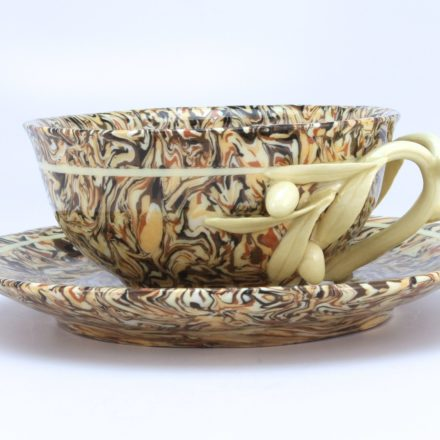 CP&S36: Main image for Cup and Saucer made by André Nouaille Degorce