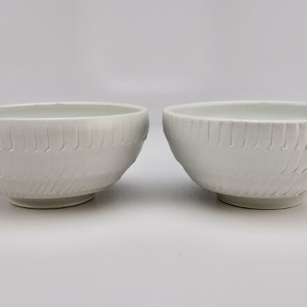B751: Main image for 2 bowl set made by Peter Beasecker