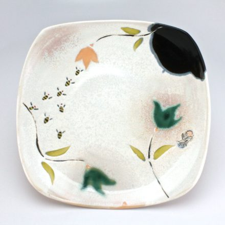 P534: Main image for Plate made by Lynn Smiser Bowers