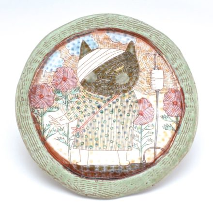 P536: Main image for Plate made by Shoko Teruyama